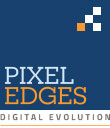 Pixel Edges Logo
